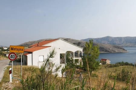 One bedroom apartment with terrace and sea view Metajna, Pag (A-6389-c) - Metajna