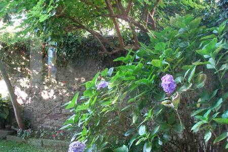 casa del 1700 con giardino privato - vergiate