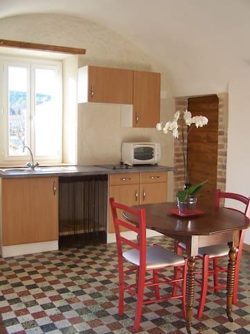 Studio rez-de-chaussée 35m² dans village 5km Alès - Saint-Julien-les-Rosiers - Casa