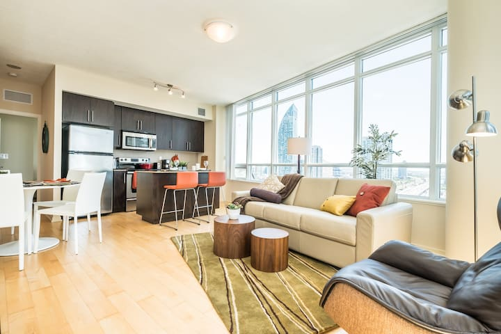 RATE DROP! - Clean and Sanitized - Premium 2bdrm Downtown Condo