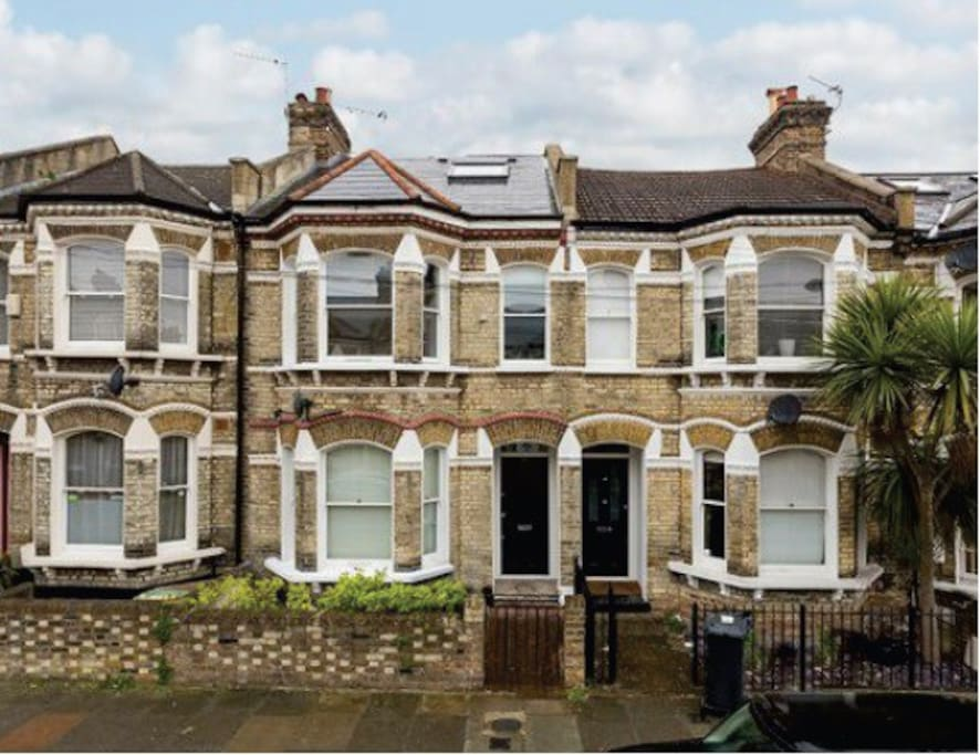 Classic victorian terraced house, on a residential street near all local amenities