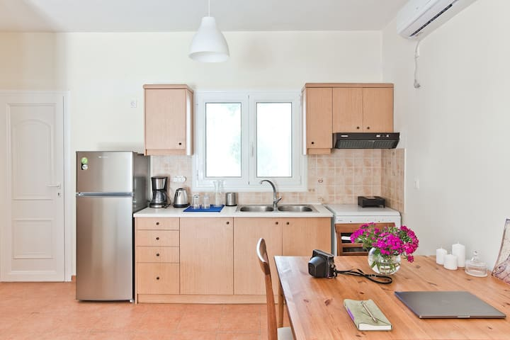 Kitchen and dining area with Air Conditioner