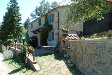 "Casa di Montagna in Toscana ""Le Torri di Popiglio"" - Popiglio - Huis"