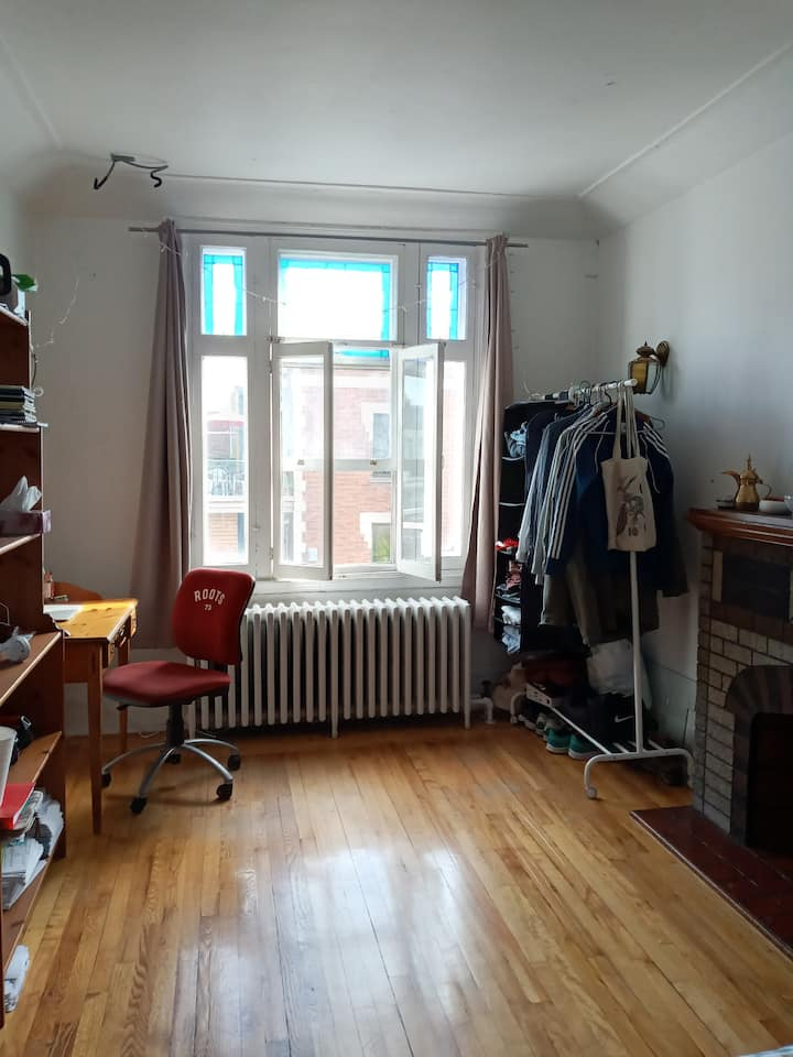 Cosy Private Bedroom - Le Plateau-Mont-Royal