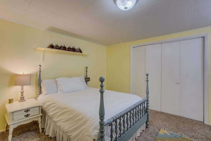 NEW Private Bedroom with living space!
