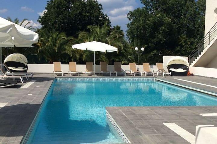 Appartement spacieux avec piscine à Moriani-Plage