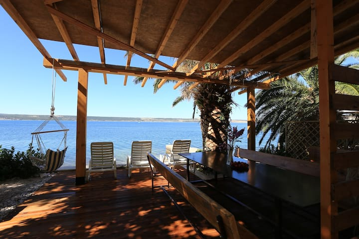 Home Directly On The Beach - Dalmatia - Croatia - Jasenice - Ev