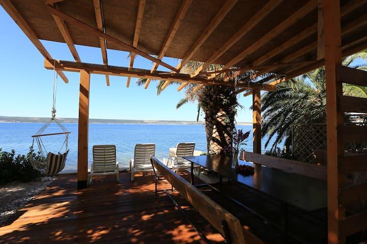 Home Directly On The Beach - Dalmatia - Croatia - Jasenice - Huis