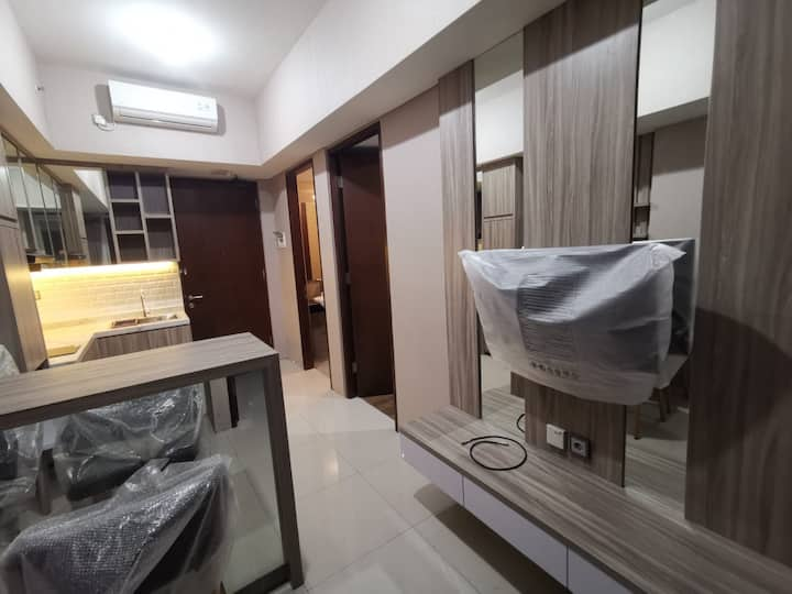 2 BR The Linden Apartemen Surabaya Full Furnished