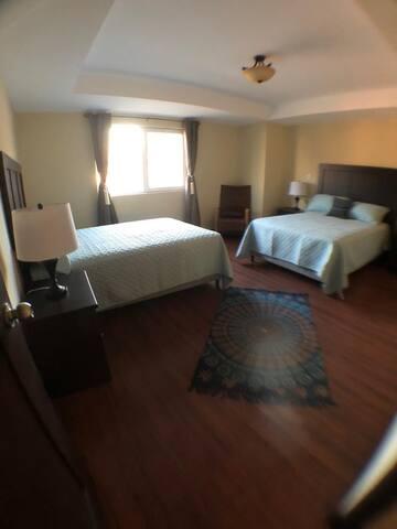 Máster 2 con camas matrimoniales