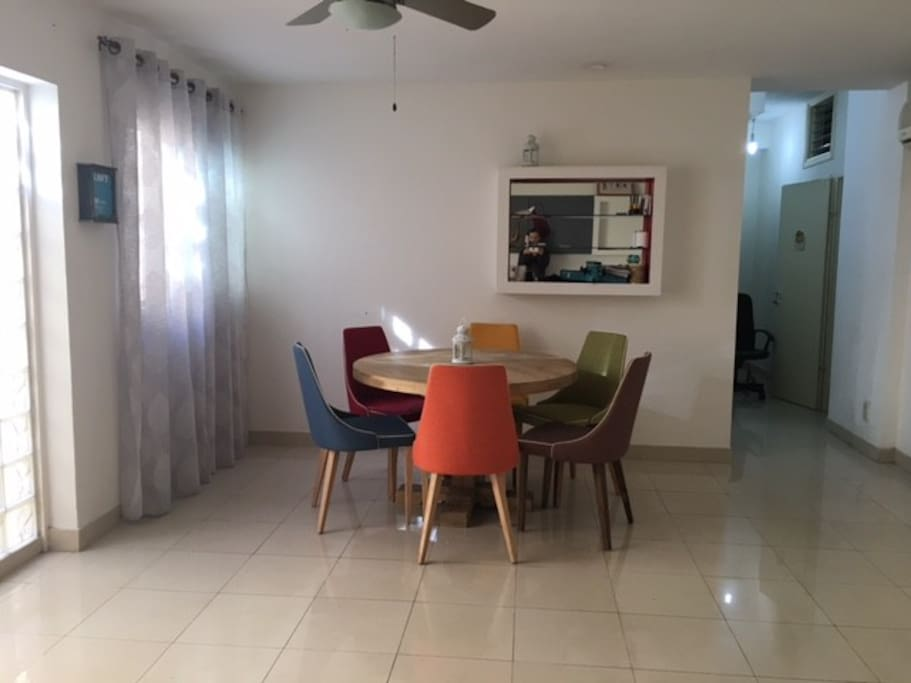 Dining room - together with living room