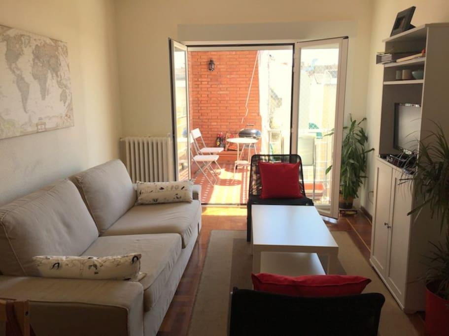 Piso en barrio de salamanca apartamentos en alquiler en for Alquiler piso barrio salamanca