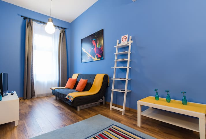 Downtown Hendrix Blue Suite - Budapest - House
