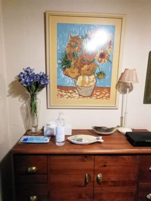 Apartamento barrio Húmedo, muy acogedor y familiar