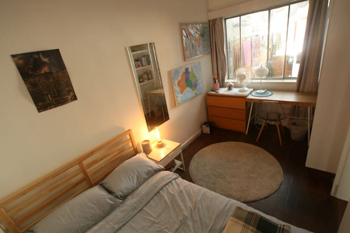 Spacious Bedroom in vibrant suburb, walk to CBD