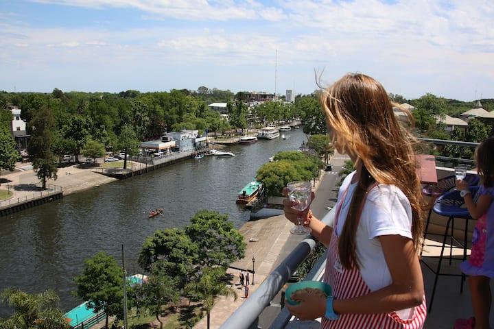 TIGRE GO  depto en Tigre con la mejor vista al río