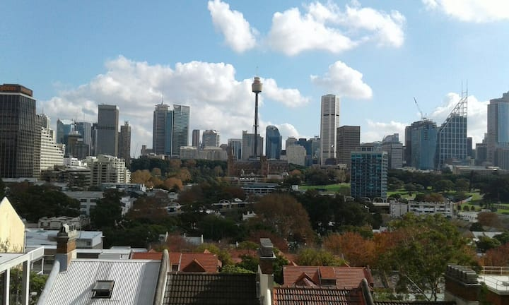 Potts Point Apartment with City & Harbour views