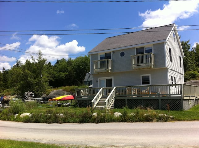 Waterview home in Phippsburg, Maine - Phippsburg - Haus
