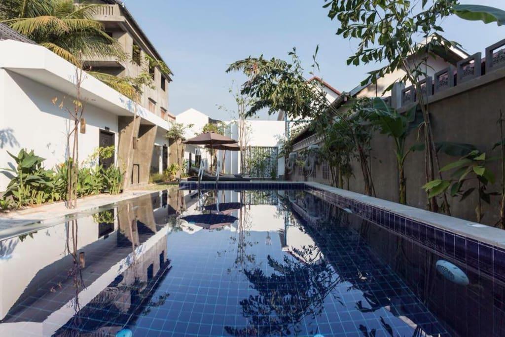 Beautiful pool at Fancy Boutique Villa