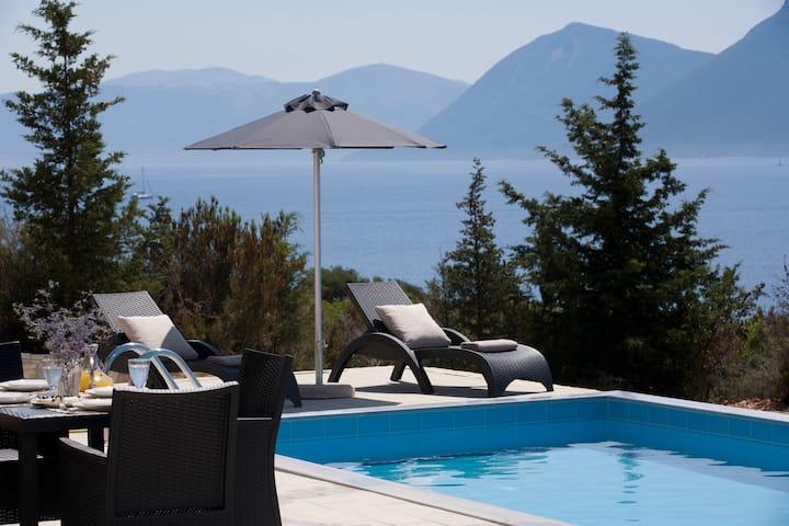 Νema villa 80m2 με ιδιωτική πισίνα