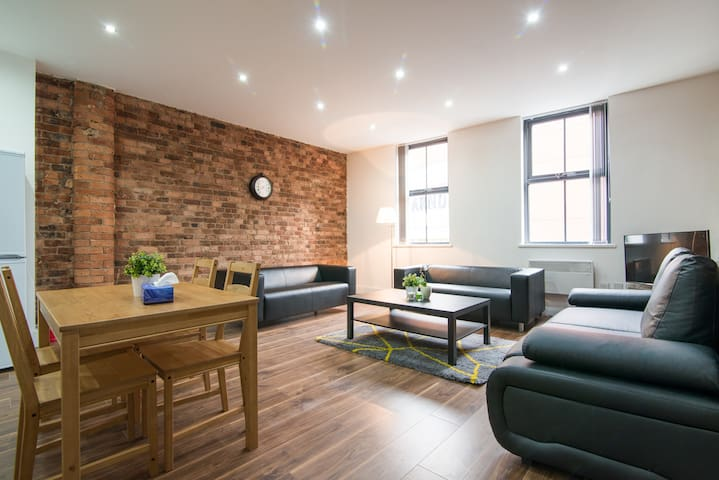 Spacious City Centre 2 bed Apartment - Manchester - Lägenhet