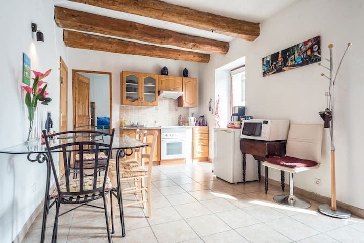 Appartement 2 pièces Cosy - Cervens - อพาร์ทเมนท์