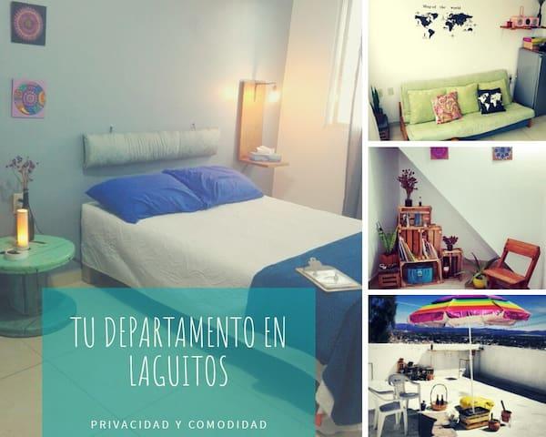 Tu departamento en Laguitos.