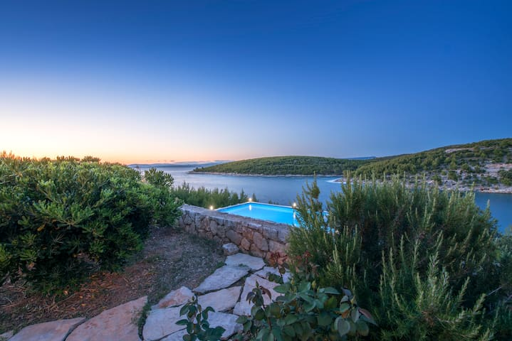 Private bay in Hvar paradise