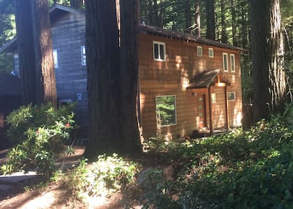 Bay Area Coastal Redwood Retreat - Woodside - Ház