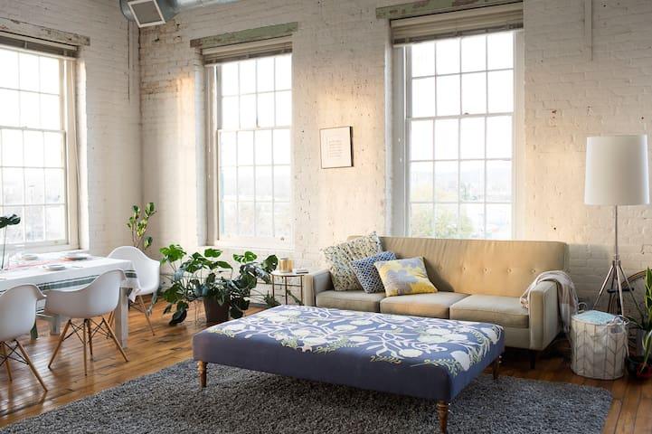 Downtown 2bd/2ba loft for Augusta Master's Rental - Augusta - Apartament