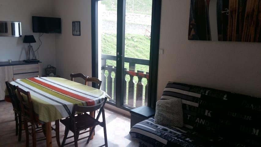 appartement  T2, 41 m2,pieds de piste, Pla d'Adet