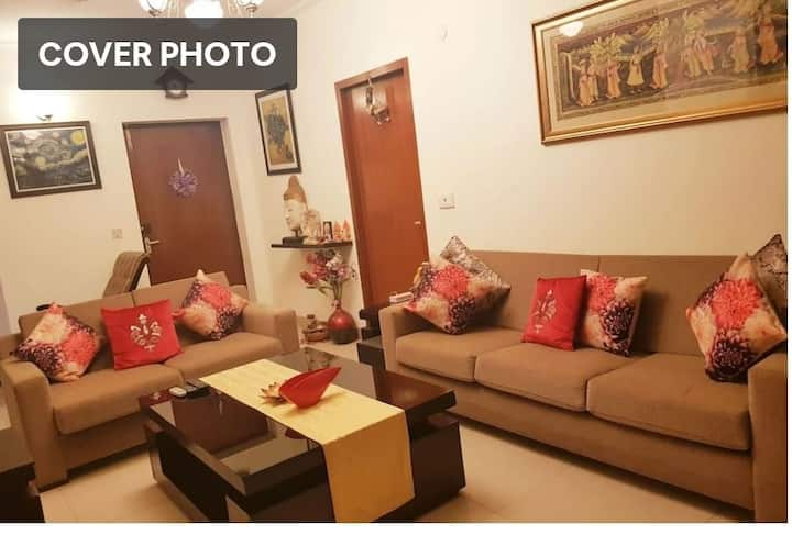 My Home At Gurgaon(Private room 2)