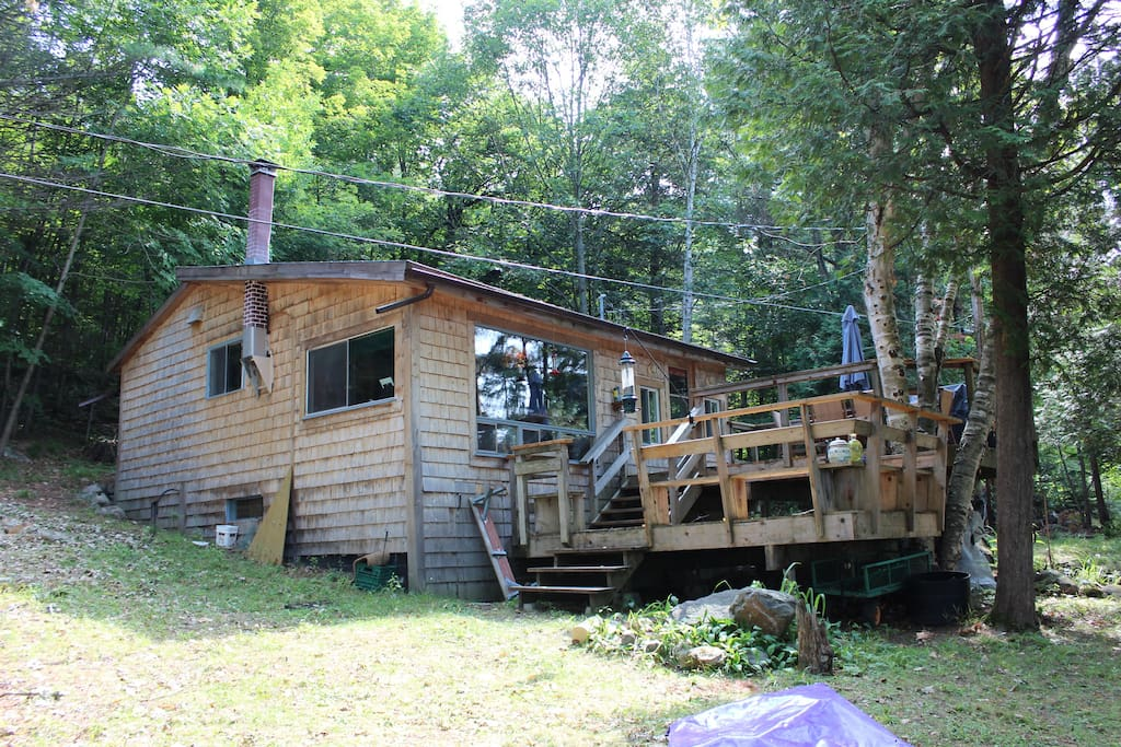 Your forest/river hideaway!