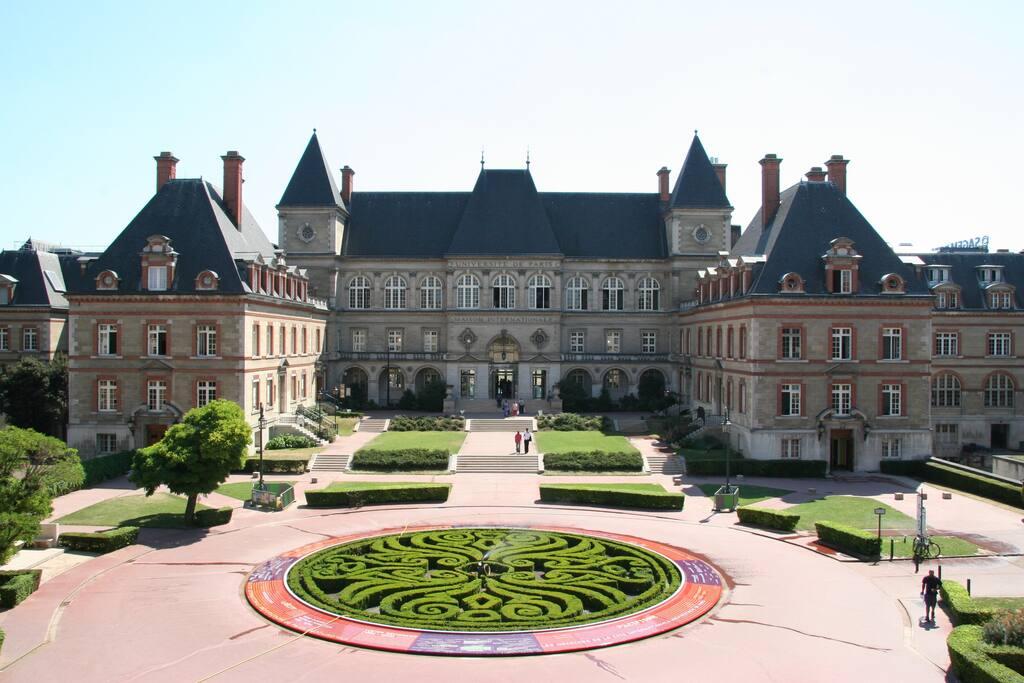 Chambre d 39 tudiant sdb et cuisine priv e s jardin appartements louer paris le de france - Chambre a louer paris etudiant ...
