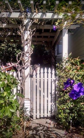 Through the Arbor gate