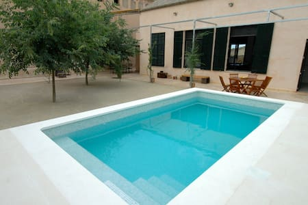 Casa in Sineu with pool.