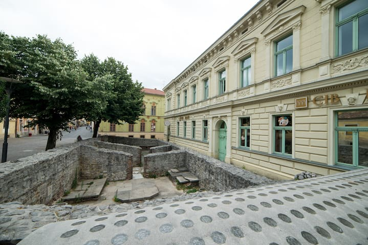 Elegant, Central, Apartment, Pecs - Pécs - Pis