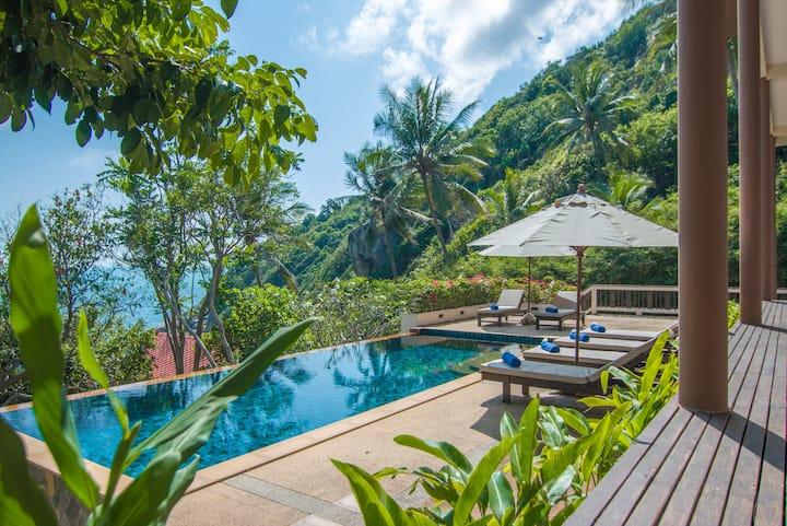 Baan Napa - Luxury Clifftop Villa
