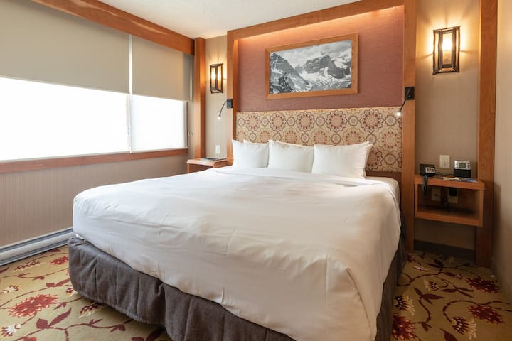 Stunning Hotel Suite - King and Queen Beds! FREE Breakfast Buffet