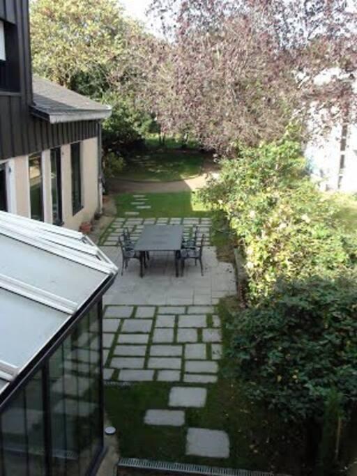 Un jardin de près de 800 m2