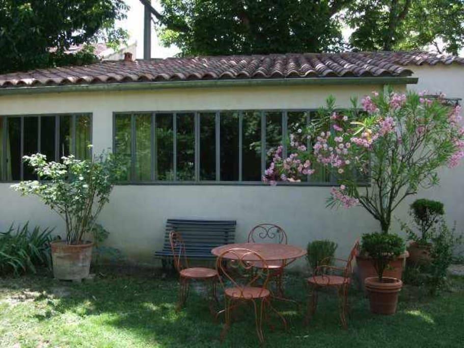 Appartement avec jardin 5 mn centre appartements louer for Appartement a louer avec jardin bruxelles