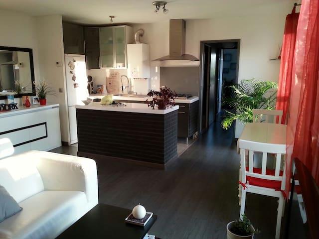 2 pièces 50m2, terrasse ensoleillée - Montigny-le-Bretonneux - Apartament