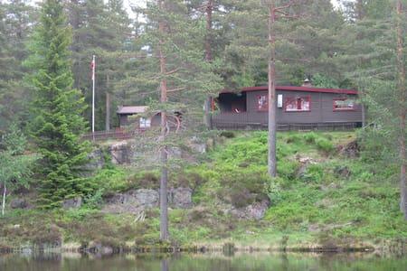 Ruthiro - old cabin in the woods - nedre eiker