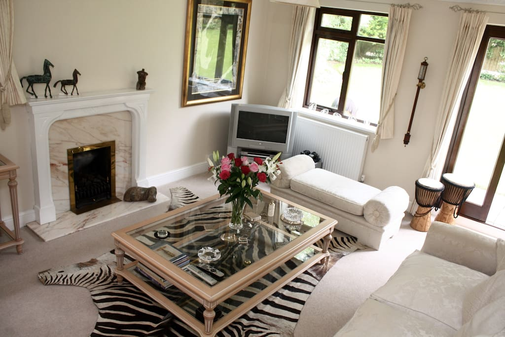 Recline On A Sofa Or Step Out Into The Garden