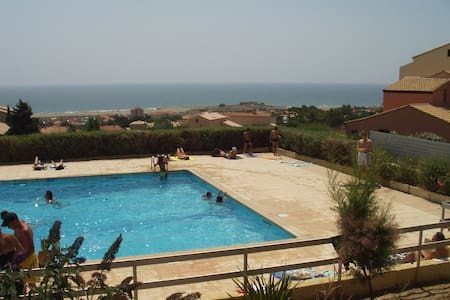 Apartment with pool, close to beach - Fleury