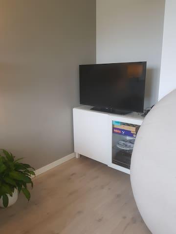 Tv med PS4 og internett