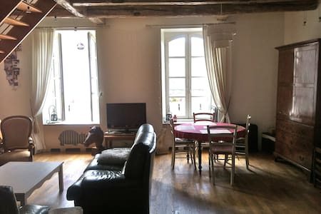Vaste duplex au coeur de Guérande - Guérande - Appartement