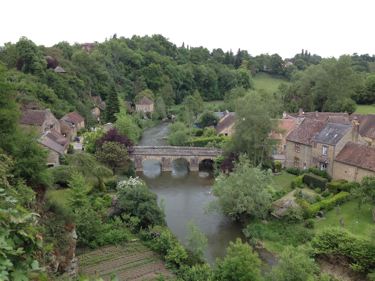 Pretty village a short distance from our home