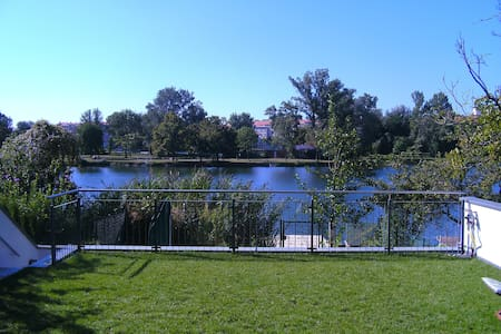 Luxury living at the lake in Vienna - Viyana - Daire