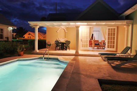 Lovely villa with private pool in sunny Bottom Bay - Bottom Bay